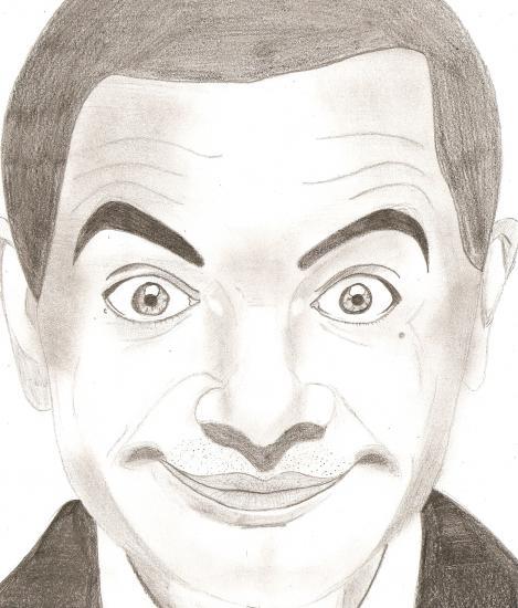 Rowan Atkinson by .Lena.